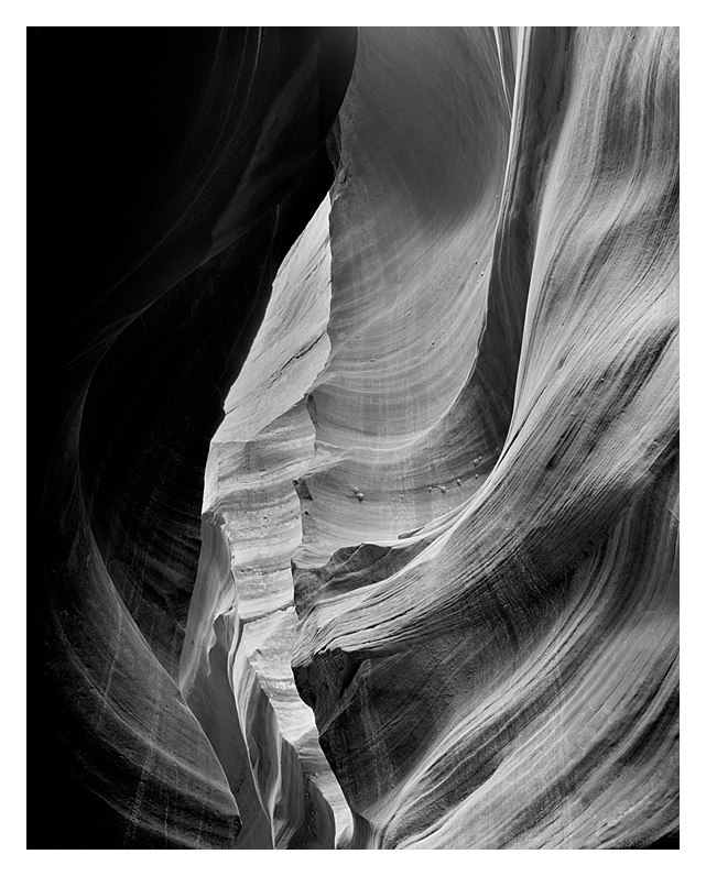 Slot Canyon #1, Northern Arizona, 2010
