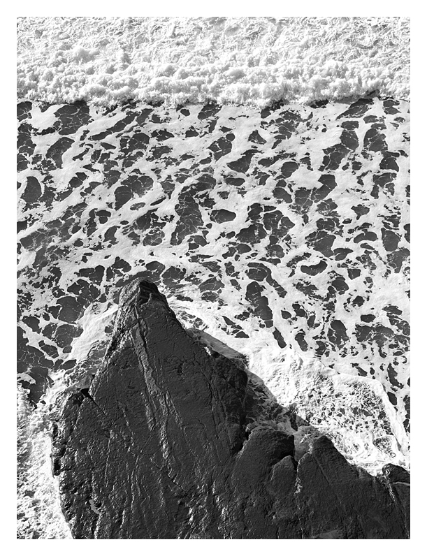 Surf Patterns, San Mateo County Coast, California, 1994